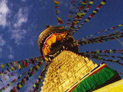 Bodhnath – the biggest stupa in Nepal